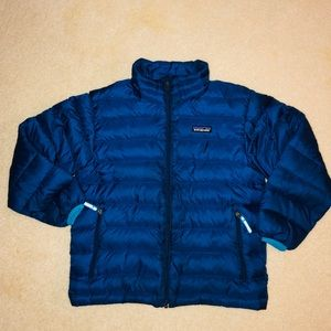 Patagonia puffer coat for boys size Small or 7-8